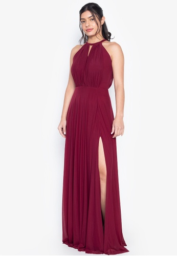 Tantease red Felice Evening Dress A185CAAE2C930EGS_1