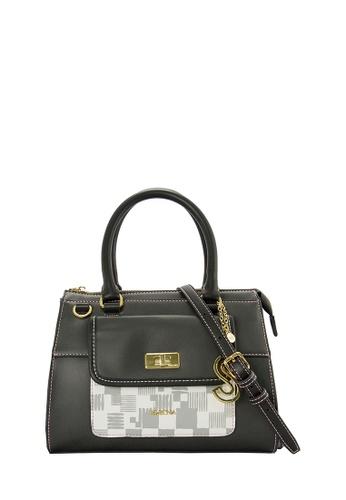 SEMBONIA grey SEMBONIA Synthetic Leather Satchel Bag (Grey) SE598AC0RUTVMY_1