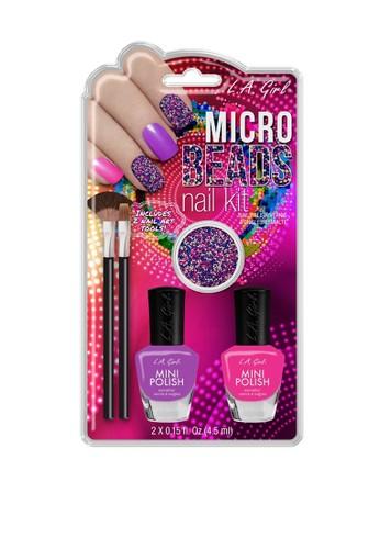 L.A Girl multi LA Girl Nail Art Dip Kit Micro Beads FF2E7BE7F804B6GS_1