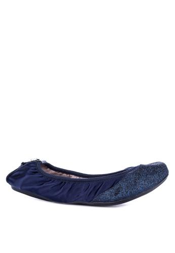 Butterfly Twists blue Ashley Round Toe Flats C4159SHADF88FFGS_1