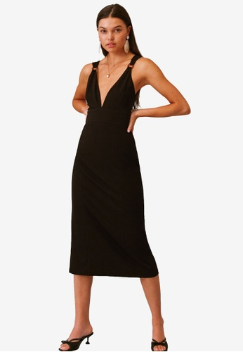 Finders Keepers black Effy Dress 43C4BAA64CB71AGS_1