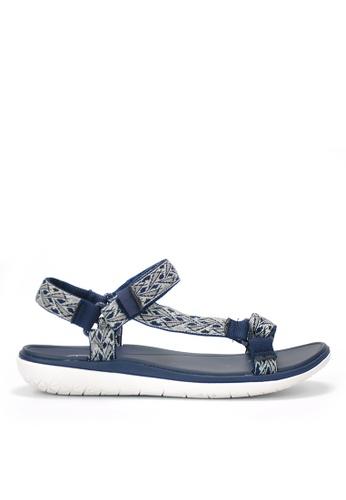 Twenty Eight Shoes 藍色 輕巧EVA防水涼鞋 545CDSHB3991F0GS_1