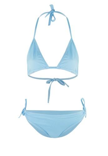 PINK AND PROPER blue Triangle Bikini Blue FFBE3USB8FEFB8GS_1