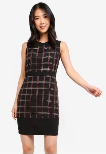 ZALORA BASICS multi Basic Sleeveless Colourblock Dress C32CEAA75FD322GS_1