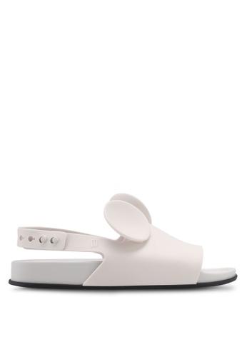 Melissa white Melissa Beach Slide Disney Sandals ME121SH0SX7JMY_1