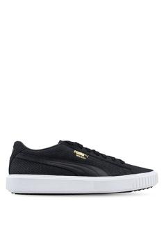 107b8d66197 Puma black Sportstyle Prime PUMA Breaker Suede Sneakers 05186SH8DBB2F8GS 1