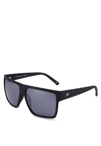 Le Specs black Dirty Magic Sunglasses FEF4DGL605C388GS_1
