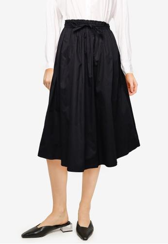 LOWRYS FARM black Woven Skirt 0EBF2AADD3B1F4GS_1