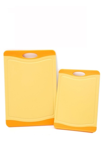 Neoflam orange NEOFLAM Flutto Antimicrobial Cutting Board (2 Piece) - Orange EF54EHL449EA55GS_1