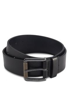 Black Classic Square Buckle Belt
