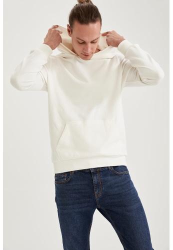 DeFacto beige Basic Sweatshirt 8874BAA155D193GS_1