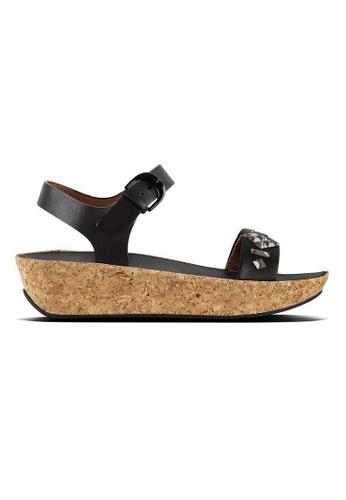 9a806b6e456d1 FitFlop black Fitflop Bon Ii Back-Strap Sandals-Crystal (Black)  3F975SH2237385GS 1