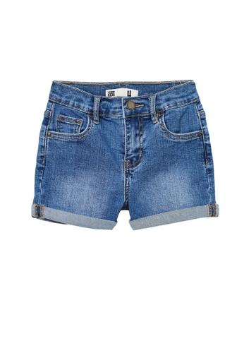 Cotton On Kids multi Camilla Denim Shorts ECF61KA3CF0D38GS_1
