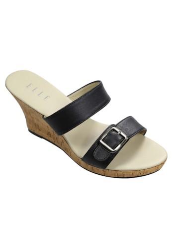 Elle Shoes black El 3362 Black EL820SH80QQDID_1
