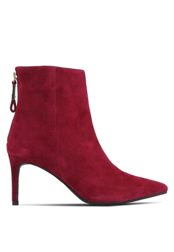House of Avenues red Ankle Boots HO685SH0RRC4MY_1
