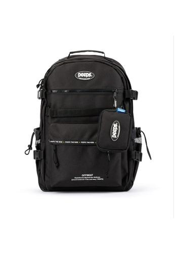 Peeps black Offbeat Backpack 2905DAC128481AGS_1