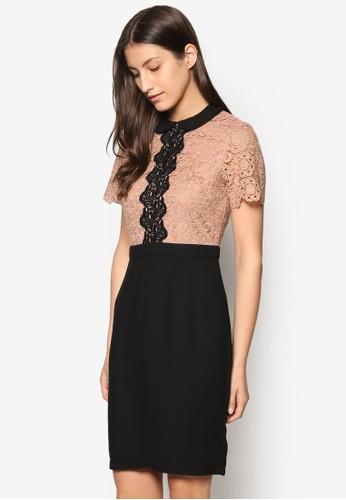 蕾絲假兩件洋裝, 服飾esprit 面試, 洋裝