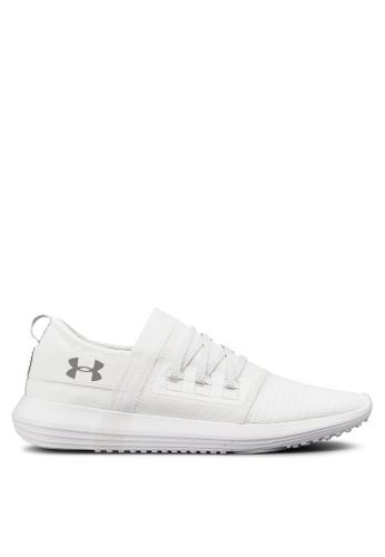 Under Armour white UA Adapt Shoes AB04ESH62DC30FGS_1