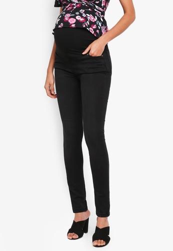 JoJo Maman Bébé black Maternity Super Skinny Jeans CA569AA9375A6EGS_1