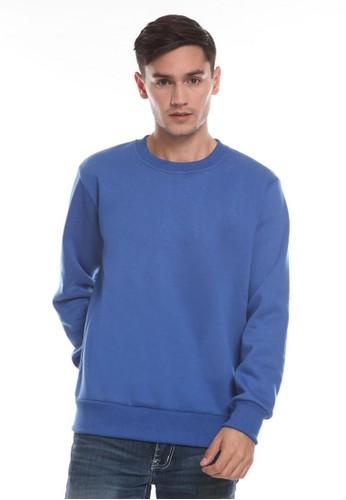 Michael Schumacher blue Men's Sweatshirt Long Sleeved 52BD9AA67E91CBGS_1