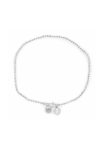 Elfi silver Elfi 925 Genuine Solid Silver Classic Bead Bracelet SB-7M EL186AC15LZCMY_1