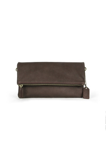 Picard brown Picard Buffalo Multifunctional Sling Bag in Cafe-Burgundy DBC19ACE2BE9ABGS_1