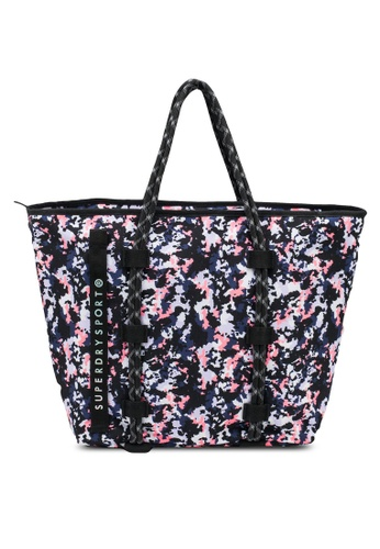 SUPERDRY grey Fitness Tote Bag 082EFAC6FB488AGS_1