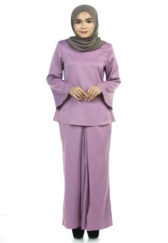 Ashura purple Betti Kurung Kedah 0B2CAAAD6406BDGS_1