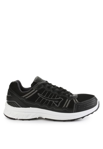 Ardiles black and multi Men Running Shoes Brugman AR073SH0VRMAID_1
