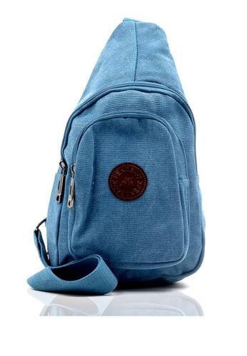 Attraxion Men's and Accessories blue Attraxion Kendrick 810-14 Crossbody Bag 2264CAC200E2D3GS_1