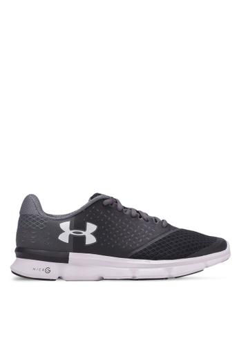 Under Armour black UA Micro G Speed Swift 2 Shoes UN337SH0S39UMY_1