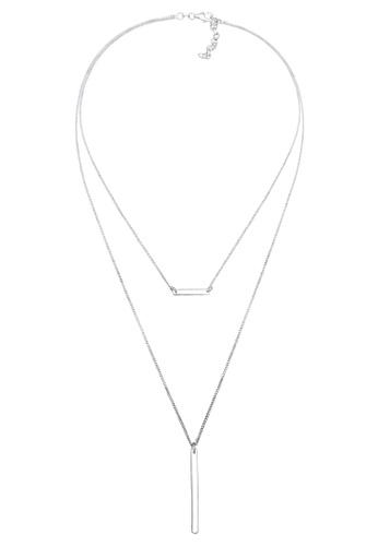 Elli Germany silver Elli Germany Necklace Geo Layer 925 Sterling Silver EL474AC85OJUMY_1