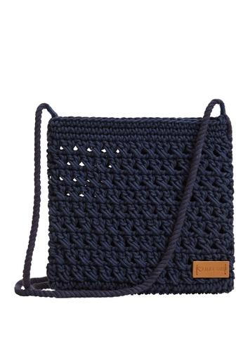 MANGO KIDS blue Braided Design Bag 81B88KC60FE245GS_1