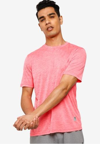 UniqTee 多色 Slim 圓領T恤 EBBD6AA2EB5C30GS_1