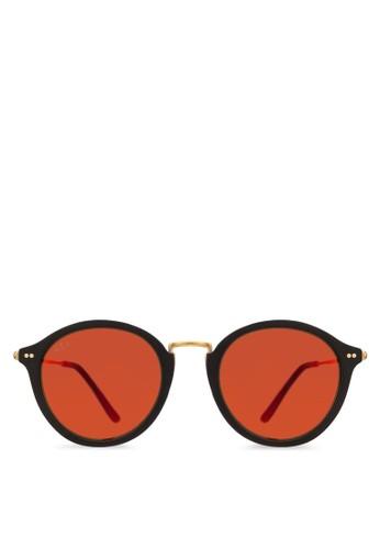 Maui 反光圓框太陽眼鏡, 飾品配件,esprit門市 飾品配件