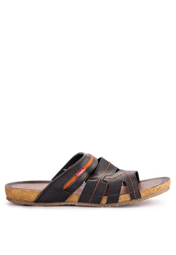 CARVIL black Carvil Sandal Casual Men Orfeo-03 M Black A0AC2SHEAABC3DGS_1