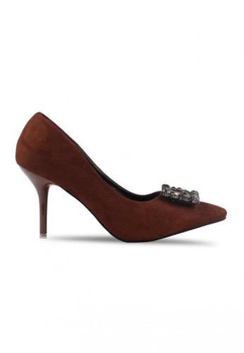 Sepatu High Heels Claymore V68 - 09 Brown