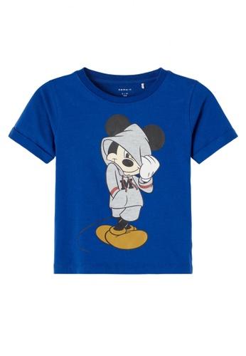 NAME IT blue Mickey Jarmo Short Sleeves Tee 1D8E7KAA85F888GS_1