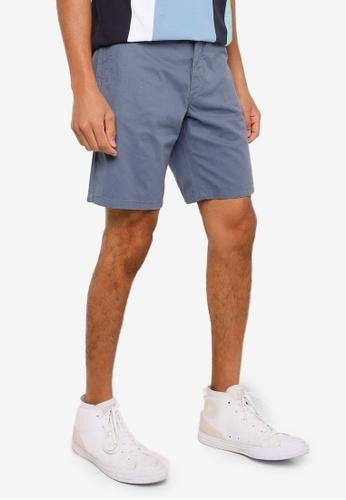 Springfield blue Micro Print Bermuda Shorts E1A42AA099E3EEGS_1