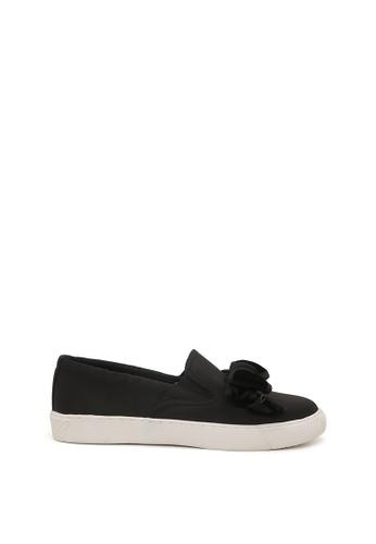 London Rag black Stormy Bow Slip-on Sneaker C5340SH0E30381GS_1