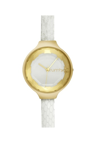RumbaTime white Rumbatime Orchard Gem Exotic Watch Crystal RU023AC86TNLHK_1