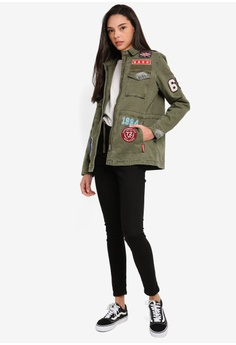 4ad9610a06 38% OFF Superdry Rookie Varisity Jacket S$ 189.00 NOW S$ 116.90 Sizes 8 10  12 14 16