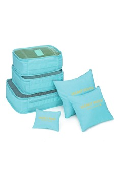 6 in 1 Packing Bags Plain