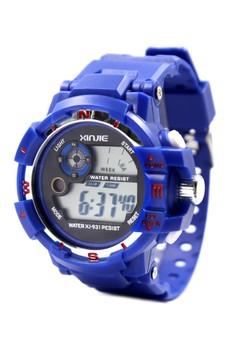Aldrin Sports Men's Silicone Strap WatchXJ-931