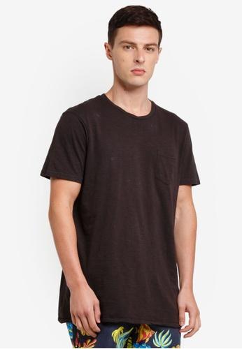 Cotton On 黑色 短袖T恤 FEAB2AA3063C64GS_1