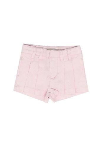 FOX Kids & Baby pink Baby Girl Shorts 88406KA0600DACGS_1