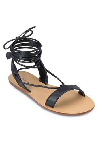 Sprzalora鞋ing 羅馬平底涼鞋, 女鞋, 涼鞋