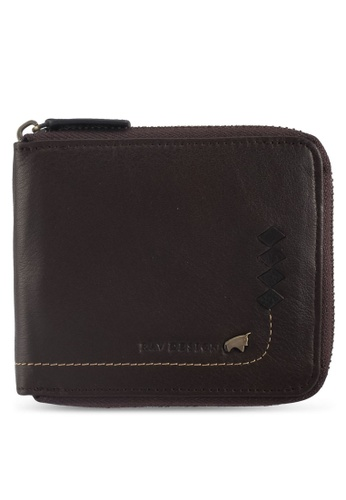 RAV Design brown Leather Wallet 6A91BAC423F737GS_1