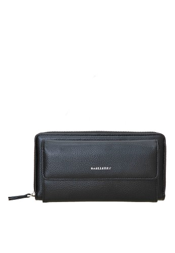 Baellerry black Handbag Dompet Pria Model Panjang Many Slot Material PU Leather ORIGINAL E5BEAAC52001D2GS_1