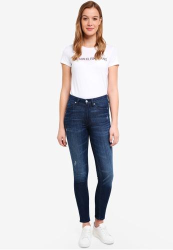 Calvin Klein multi A-Instit Flower Logo - Calvin Klein Jeans 6930AAA08039B8GS_1